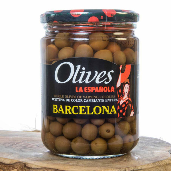 La Española Olives Barcelona Edition-Color Variety Spanish Olives