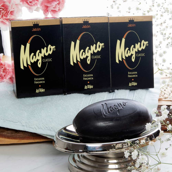 Magno Bar Soap Pack of 3 Classic