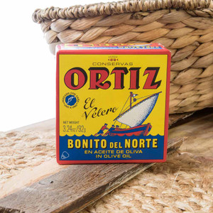 White Meat Tuna in Olive Oil - Bonito by Ortiz