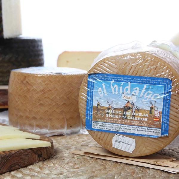 Sheep Cheese 2.2 Pounds Wheel D.O. El Hidalgo