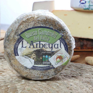 Gamoneu Cheese from Asturias 1 Pound Wheel D.O.