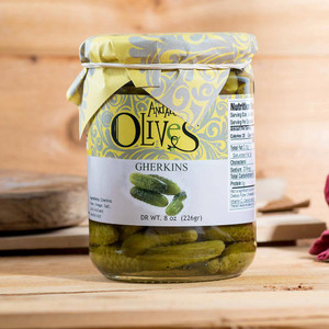 Tiny Gherkins by Andalusian Olives