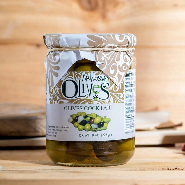 Olives Cocktail Mix by Andalusian Olives