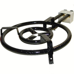 Two-Ring Gas Burner for Paella 41cm - 16 in
