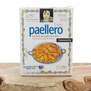 Paella Seasoning with Saffron Carmencita