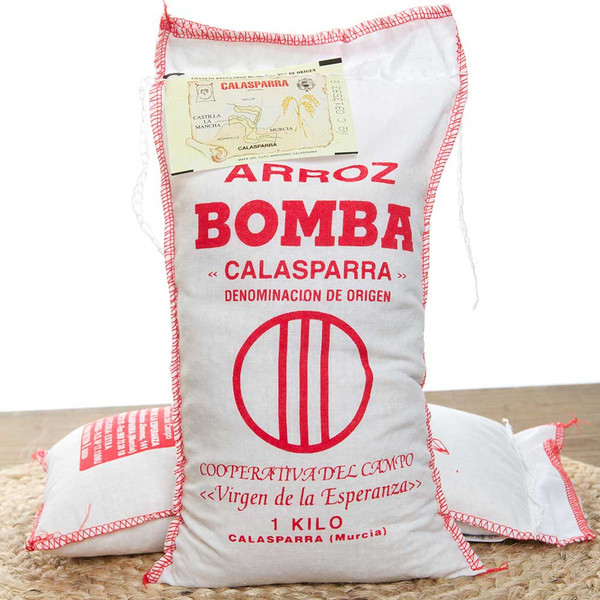 Bomba Rice Virgen de la Esperanza. Paella Rice