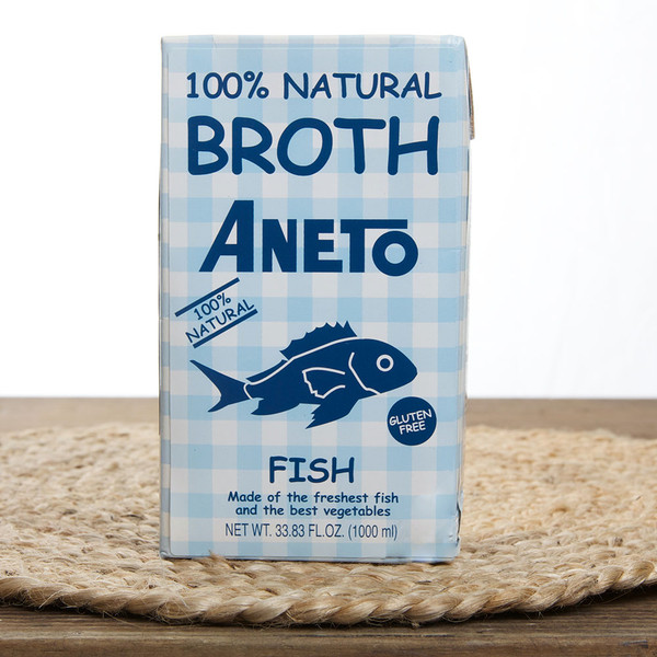 Paella Fish Broth All Natural by Aneto