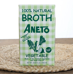 Vegetable Broth 100% Natural by Aneto
