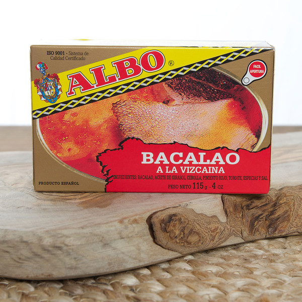 2 Tins of Cod-fish Biscayan style | Bacalao by Albo