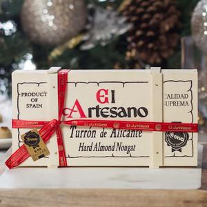 Artisan Hard Almond Nougat - Turron de Alicante by El Artesano