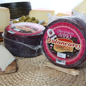 Murcia Cheese in wine -wedge- 'Palancares'