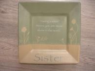 Sister Wood Plate