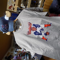 Patriots Moose T-Shirt Size Adult XL
