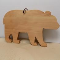 Bear Shaped Cutting Board