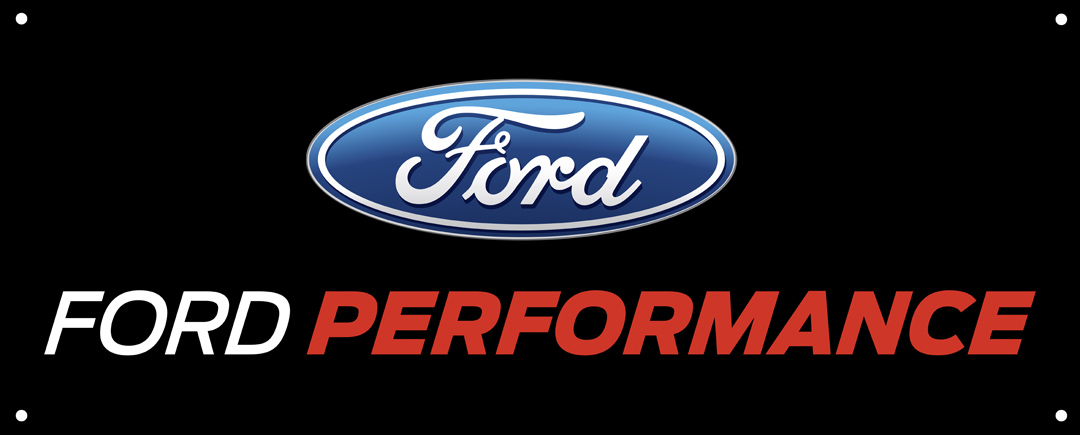 ford performance logo banner 60quotx24quot svt store