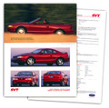 1996 SVT Cobra Tech Card - Set of 2