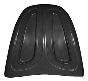 K103-H 1949-1977 VW Beetle Heavy Duty Broad Eye Recessed Baja Hood Will Not Fit Super Beetle-Recessed Area Adds Strength