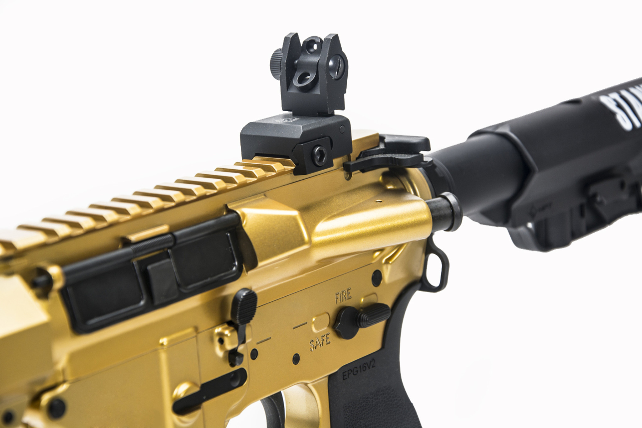 Left Handed Gold Model B Sporting Rifle