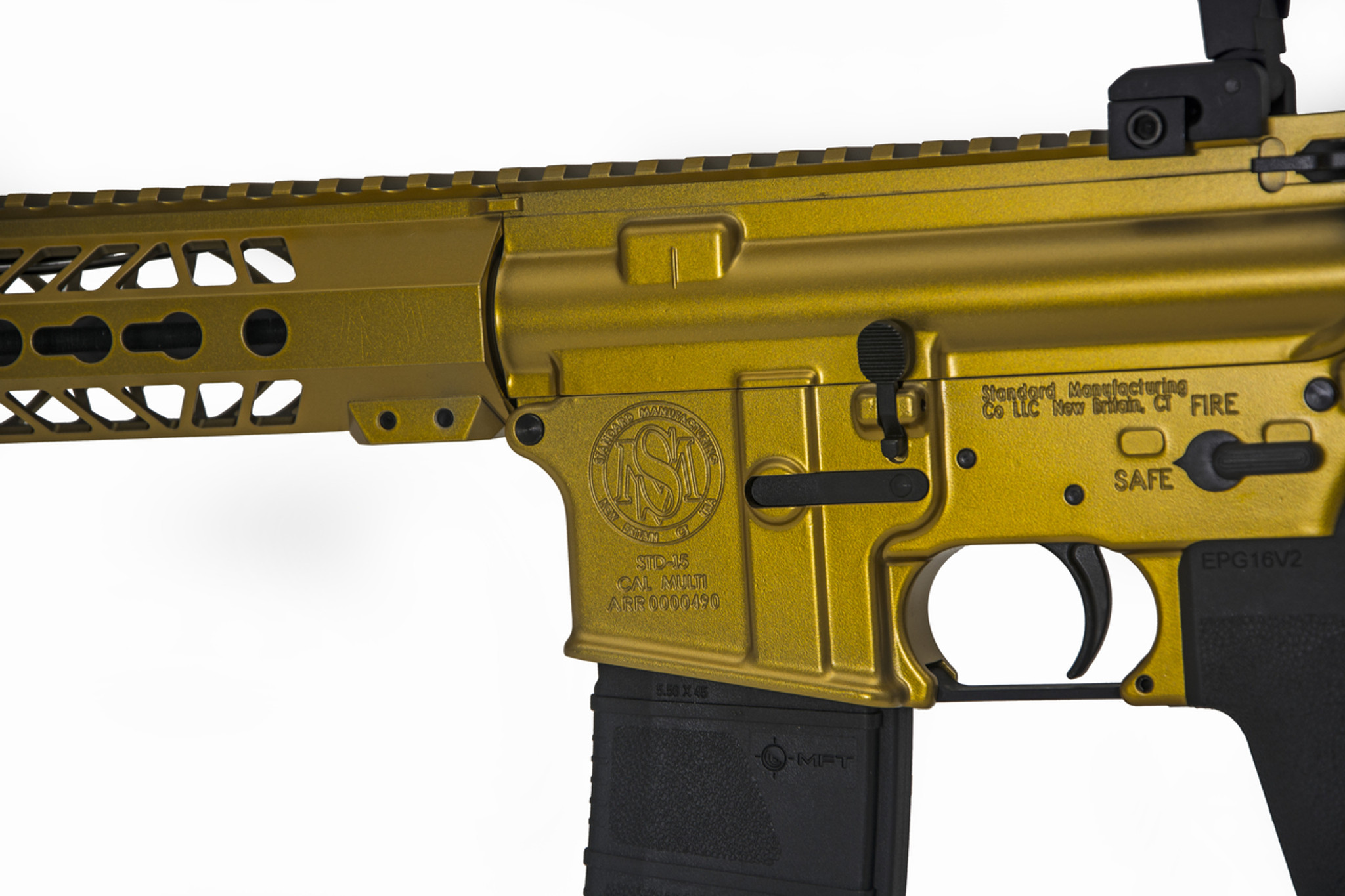 Right Handed Gold Model B Sporting Rifle