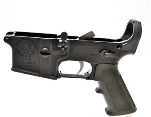 Lower Receiver with Parts Kit Installed