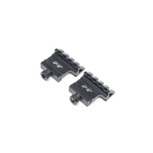 DP-12 45° Angle Offset Sight Mount Rail Pair