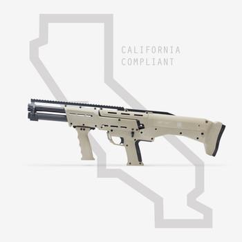 Tan DP-12 Double Barrel Shotgun California Compliant