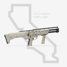 TAN DP-12 DOUBLE BARREL PUMP SHOTGUN CALIFORNIA COMPLIANT
