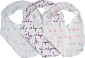 Personalized Baby Bibs Pack of 3 - girl