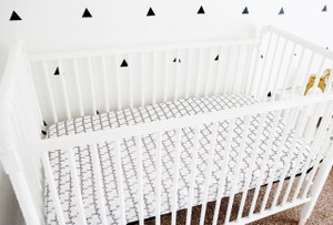 Personalized Organic Crib Sheet