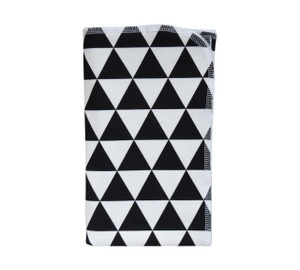 Black Pyramid Organic Blanket