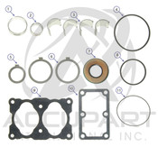 BEN707969, BEARING AND SEAL KIT 550/750