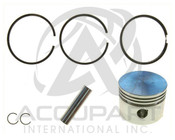 MAR61M01PR0, PISTON & RINGS, 65MM STD