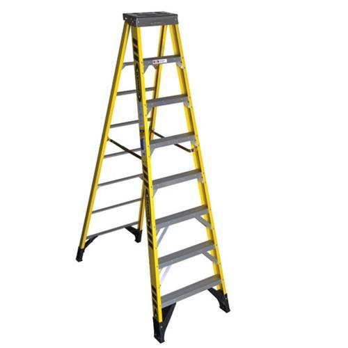 Ladder - Step - Fiberglass 8'