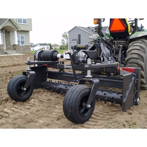 3PT. Attachment - Harley Power Box Rake / Landscape Rake, 6'