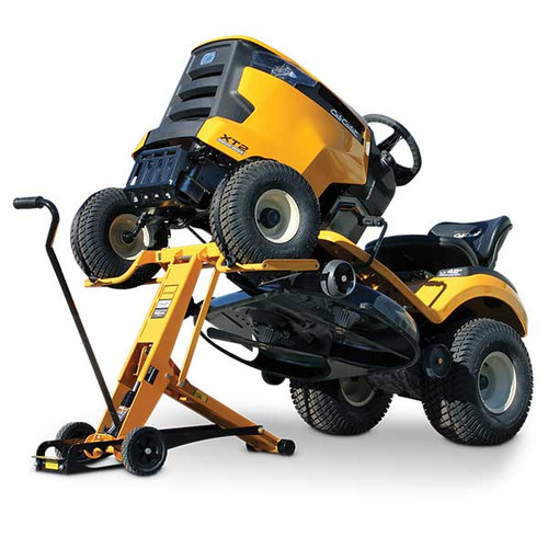 Hrdraulic Tractor Lift : Cub cadet chl mower lift holmes rental station