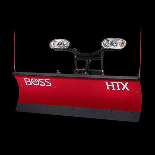 "Boss 7'6"" HTX Straight-Blade Poly Snowplow"