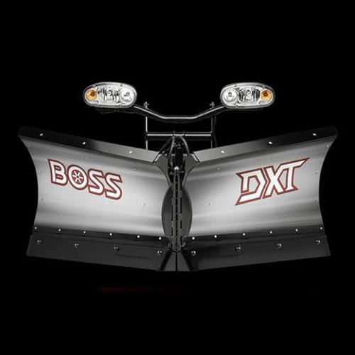 """Boss 8'2"""" Stainless Power-V DXT Snowplow"""