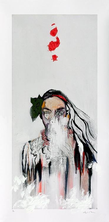Silent Outburst by Ashley Payne Artist Print
