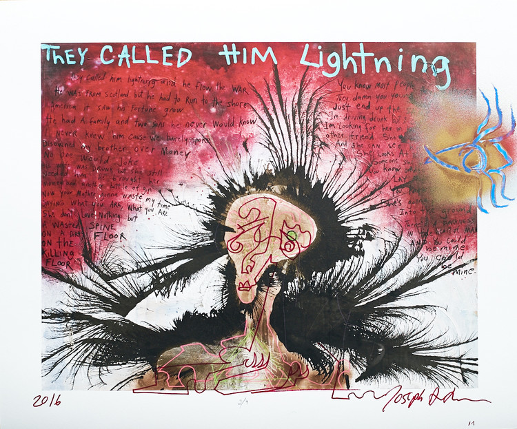 They Called Him Lightning by Joseph Arthur