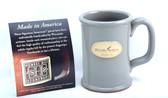 History Museum Mug: Gray Straight