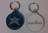 History Logo and Mill Mountain Star Keychain