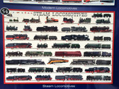Modern Steam Locomotives Poster