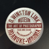 Round O. Winston Link Museum Magnet