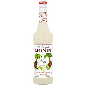 Enjoy a taste of the tropics by adding MONIN Coconut syrup to cocktails, coffees, smoothies and fruit punches and drift away to the shade of a coconut palm!