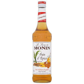 Recreate that cosy feeling of warmth around the fireplace when flavouring your beverages with MONIN Gingerbread syrup!