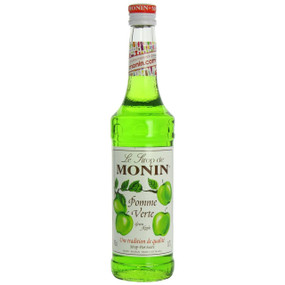 The best-selling flavour in India, MONIN Green Apple syrup is used to make the famous 'Appletini'