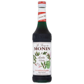 The natural aromatic flavour of MONIN Green Mint syrup will make stunning layered cocktails, refreshing teas and delicious chocolate and mocha drinks.