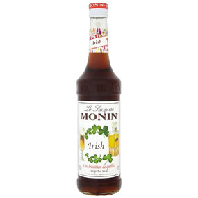 Perfect for creating non-alcoholic Irish coffees, speciality coffees, dessert cocktails and smoothies, MONIN Irish syrup will add the luck of Irish to your drinks! Enjoy!