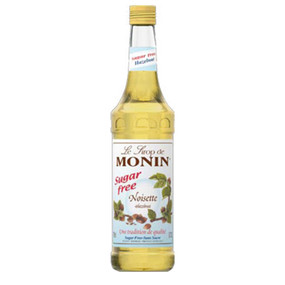 All the great taste of MONIN Hazelnut, but with none of the calories!