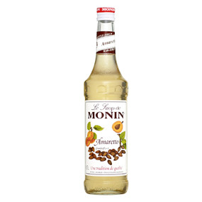 MONIN Amaretto delivers the bittersweet taste of the popular liqueur and can be used to create a luxurious Tiramisu Cappuccino and many more tempting Italian themed desserts and after-dinner drinks.